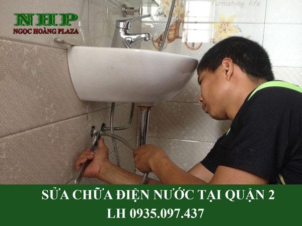 Sửa chữa điện nước tại quận 2