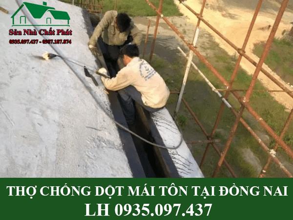 Thợ chống dột mái tôn tại Đồng Nai