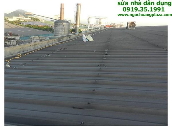 Chống thấm dột mái tôn tại bình dương