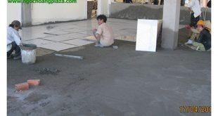 Lát gạch nền nhà tại quận 1