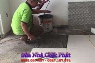 Lát gạch nền nhà tại quận thủ đức