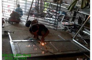 Sửa cửa sắt tại nhà quận 2