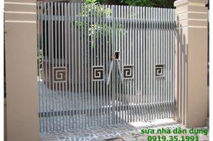 Sửa cửa sắt tại nhà quận 3