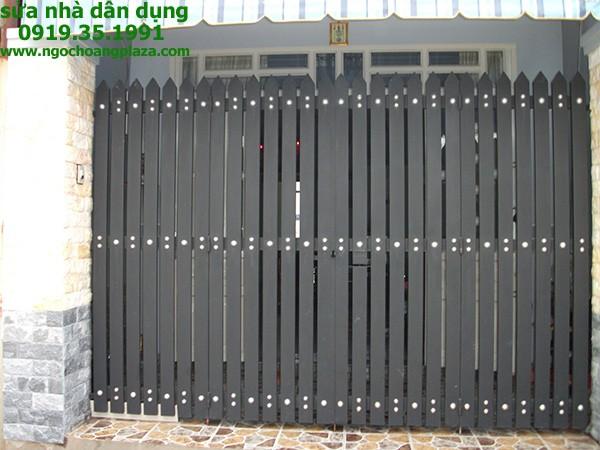 Sửa cửa sắt tại nhà quận thủ đức