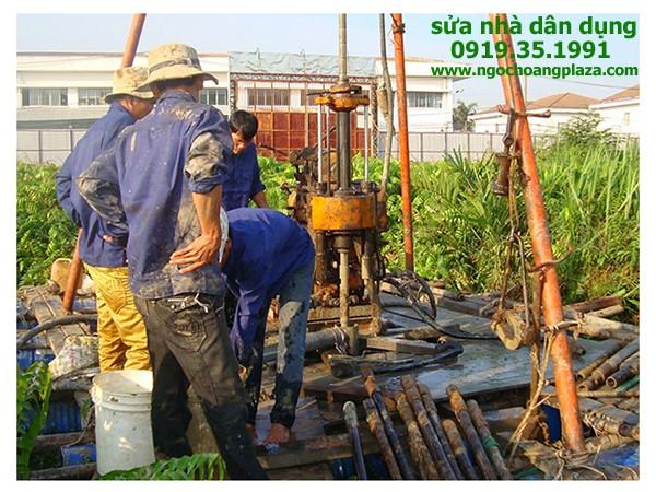 Sửa giếng khoan tại quận bình thạnh