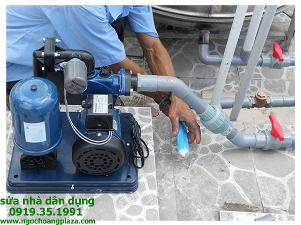 Sửa máy bơm nước tại nhà quận 1