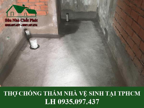 Chống thấm nhà vệ sinh tại TP HCM