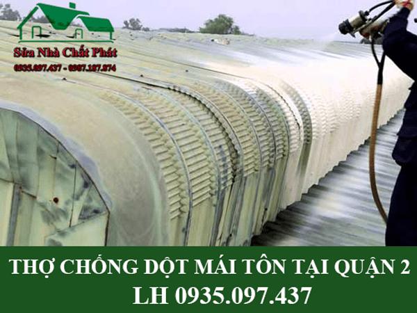Công ty chống dột mái nhà tại quận 2