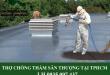 Thợ chống thấm sân thượng tại TP HCM