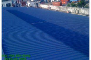 Làm mái tôn chống nóng tại tphcm