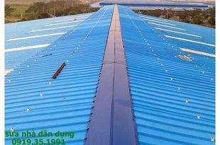 Làm mái tôn nhà xưởng tại tphcm