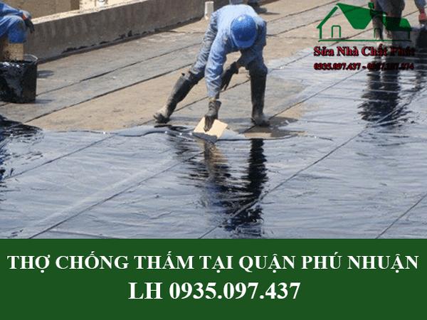 Thợ chống thấm tại quận Phú Nhuận