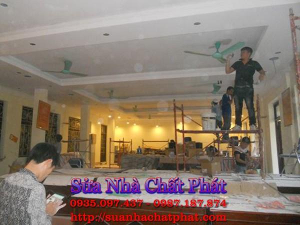 Thợ sơn nhà tại quận 4 trọn gói