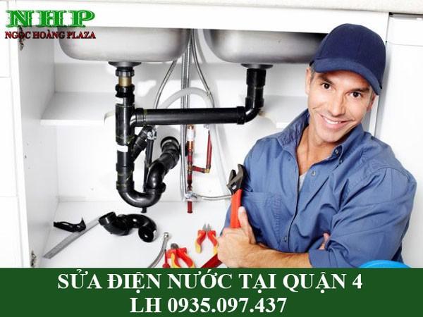 Sửa chữa điện nước tại quận 4