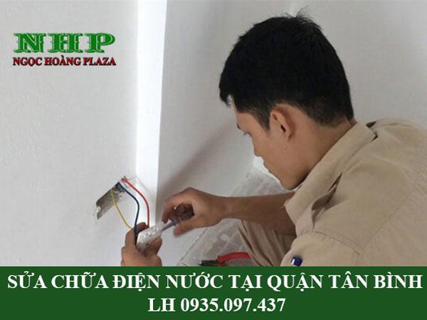 Sửa chữa điện nước tại quận Tân Bình