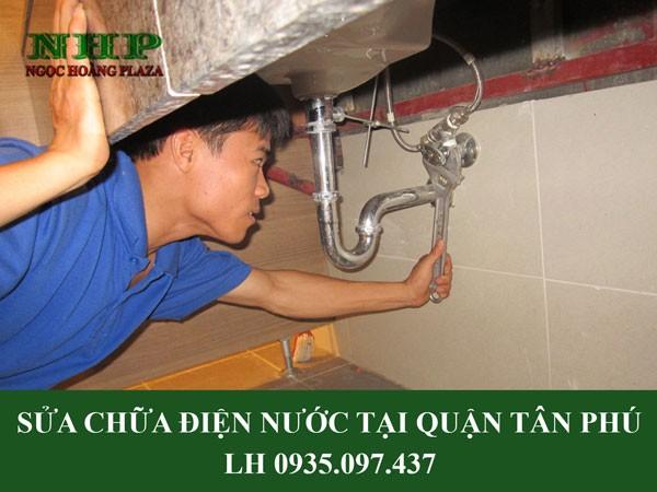 Sửa điện nước tại quận Tân Phú