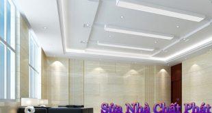 Thi công trần thạch cao tại huyện củ chi
