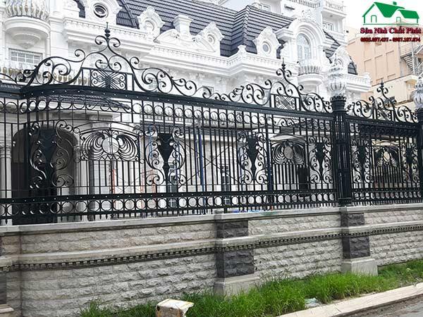 Thợ sơn hàng rào sắt tại quận gò vấp trọn gói