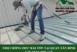 Thợ chống dột mái tôn tại quận Tân Bình