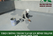 Thợ chống thấm tại quận Bình Thạnh