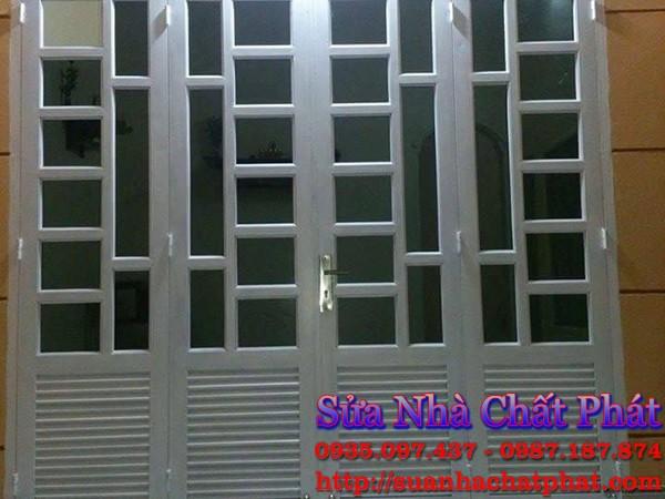 Thợ sơn cửa cổng sắt tại quận 8