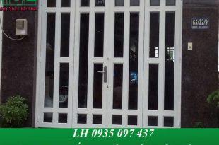 Thợ sơn cửa sắt tại quận phú nhuận giá rẻ, thi công trọn gói