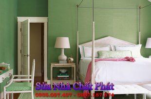 Dịch vụ sơn phòng ngủ đẹp, giá rẻ