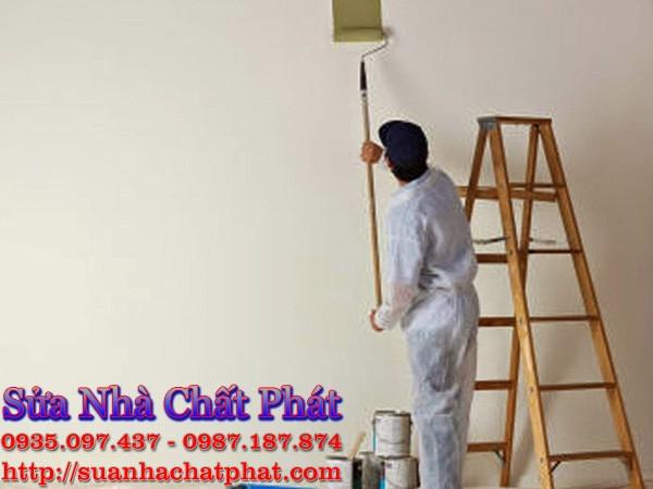 Dịch vụ sơn sửa tường nhà bị nấm mốc