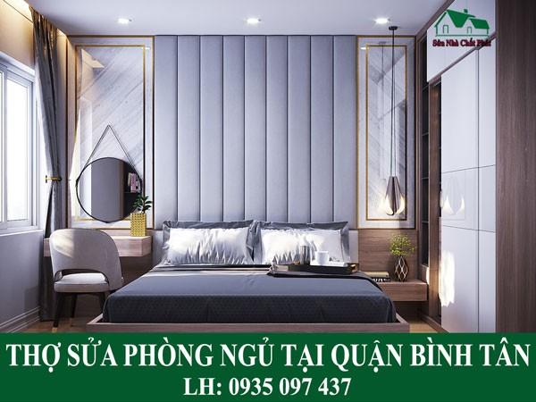 Thợ sửa phòng ngủ tại quận Bình Tân.
