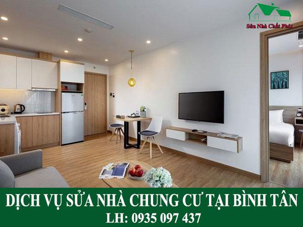 Dịch vụ sửa nhà chung cư tại Bình Tân.