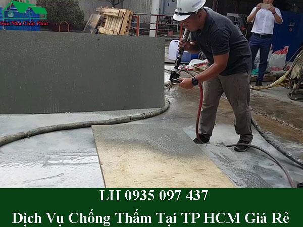 Dịch vụ chống thấm tại TP HCM giá rẻ