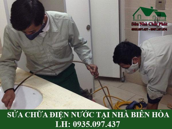 Sửa chữa điện nước tại nhà Biên Hòa