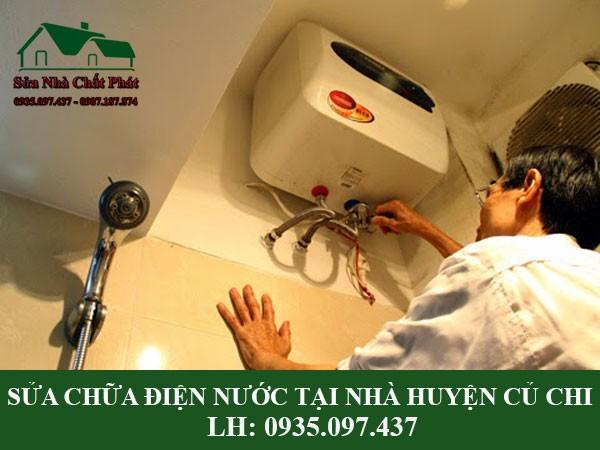 Sửa chữa điện nước tại nhà huyện Củ Chi