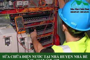 sửa chữa điện nước tại nhà huyện Nhà Bè