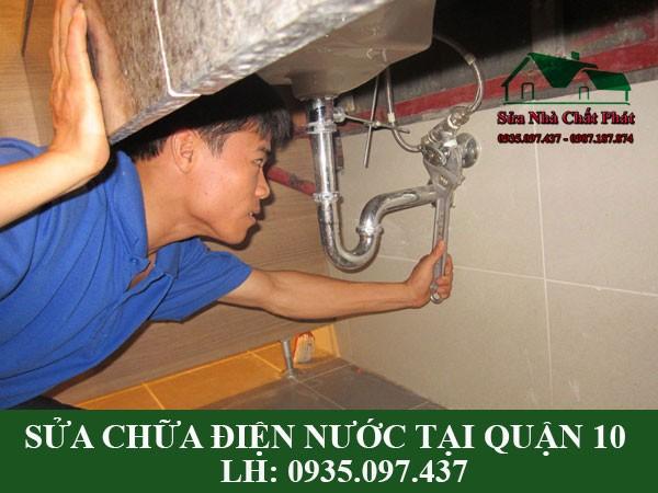 Sửa chữa lắp đặt điện nước tại quận 10