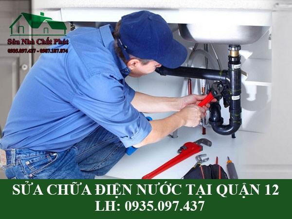 Sửa điện nước tại quận 12