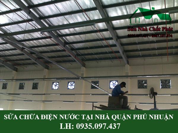 Sửa chữa điện nước tại nhà quận Phú Nhuận