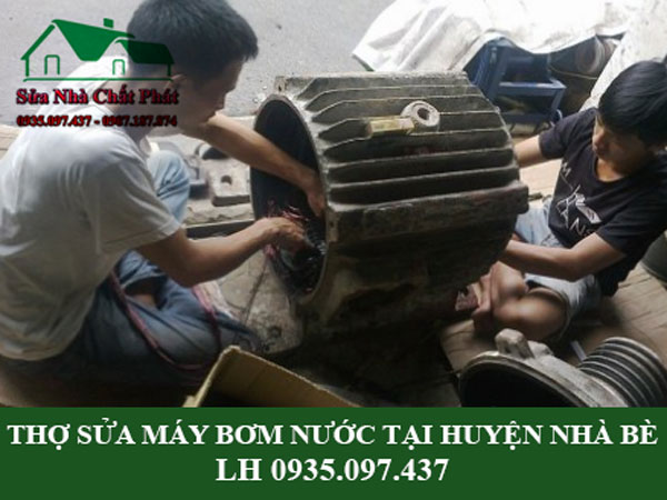 thợ sửa máy bơm nước tại huyện Nhà Bè
