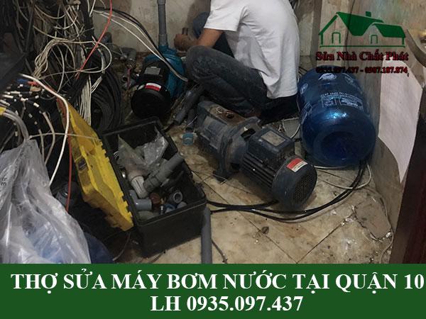 Thợ sửa chữa máy bơm nước tại quận 10