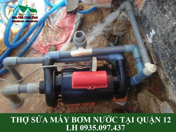 Thợ sửa máy bơm nước tại quận 12
