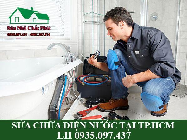 Sửa chữa điện nước tại TP.HCM