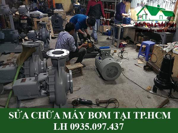 Sửa chữa máy bơm tại TP.HCM