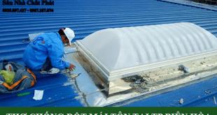 Thợ chống dột mái tôn tại TP biên hòa