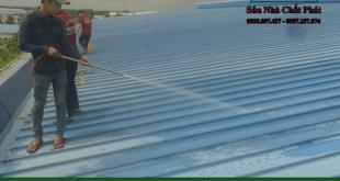 Thợ chống dột mái tôn tại quận 10