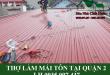 Thợ làm mái tôn tại quận 2
